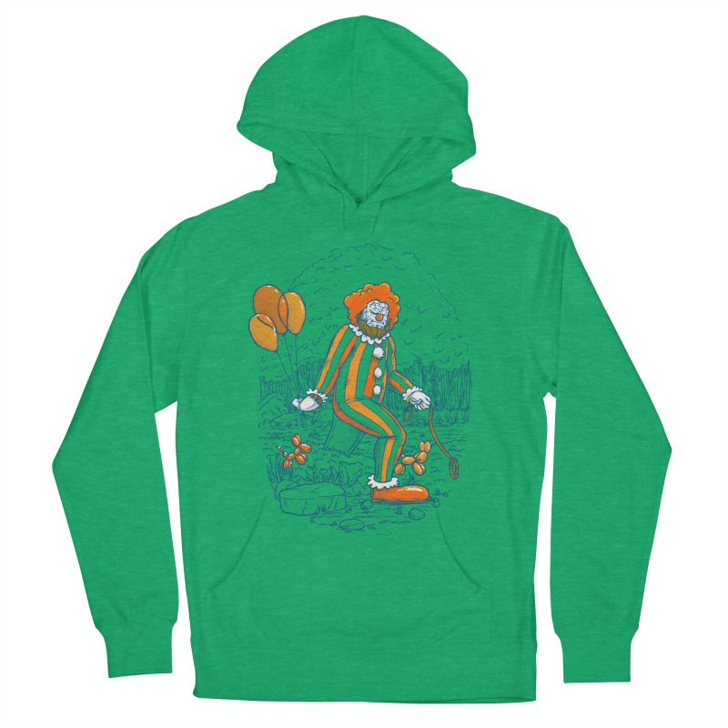 Clownfoot Women's French Terry Pullover Hoody by nickv47