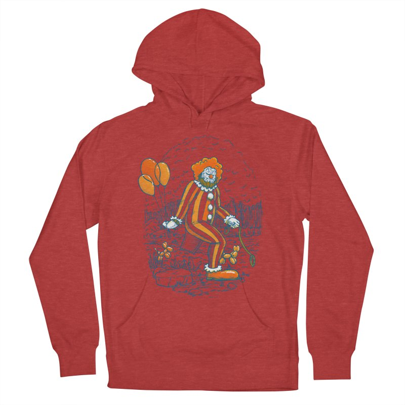 Clownfoot Men's French Terry Pullover Hoody by nickv47