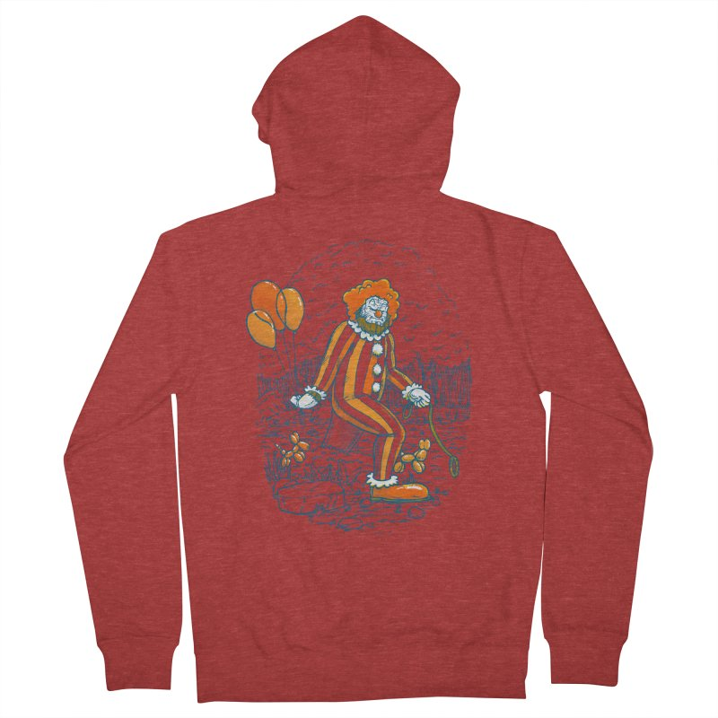 Clownfoot Men's French Terry Zip-Up Hoody by nickv47