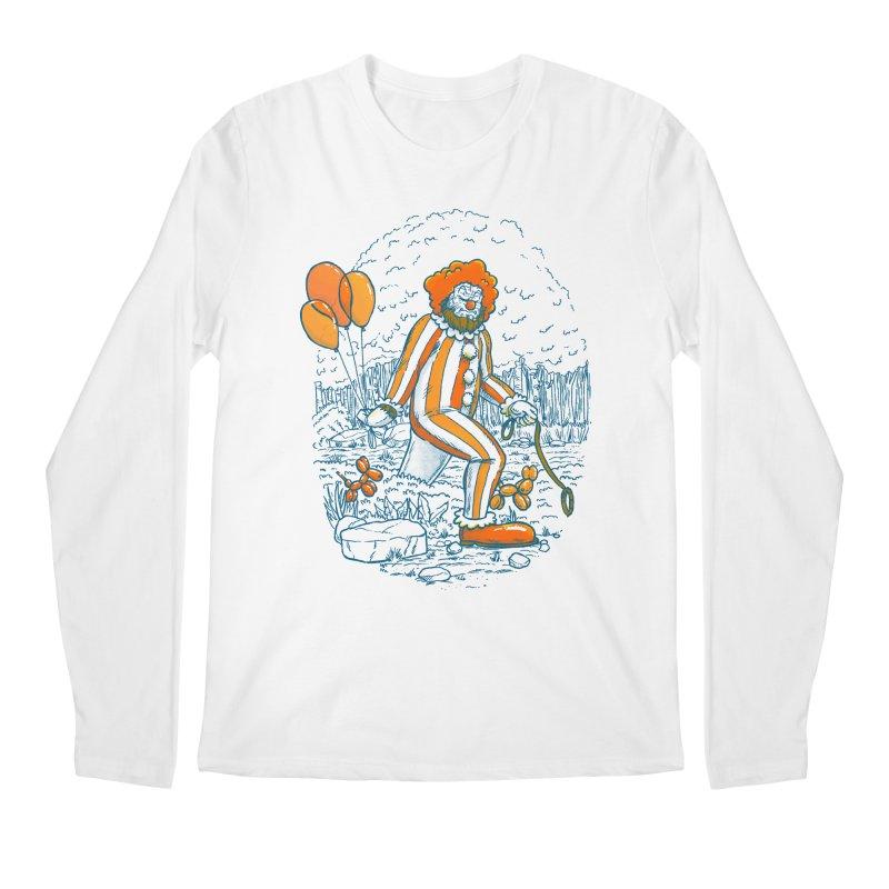 Clownfoot Men's Regular Longsleeve T-Shirt by nickv47
