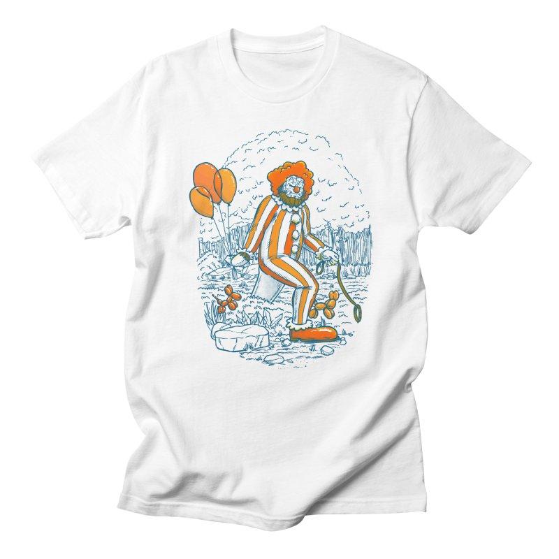 Clownfoot Men's Regular T-Shirt by nickv47