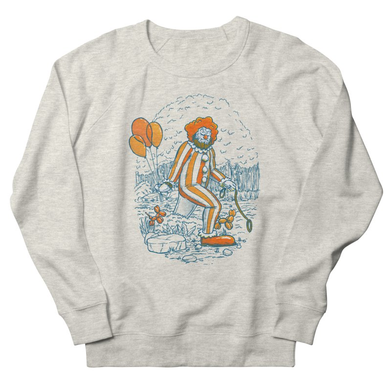 Clownfoot Women's French Terry Sweatshirt by nickv47