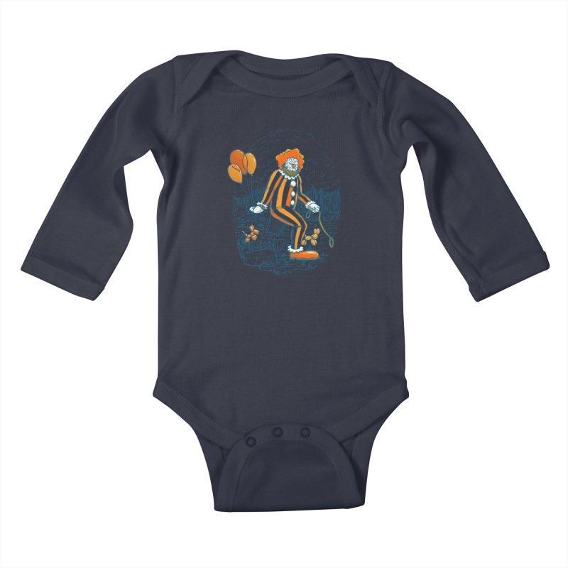 Clownfoot Kids Baby Longsleeve Bodysuit by nickv47