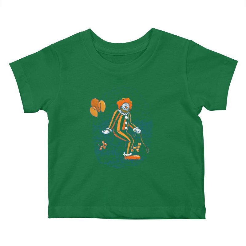 Clownfoot Kids Baby T-Shirt by nickv47