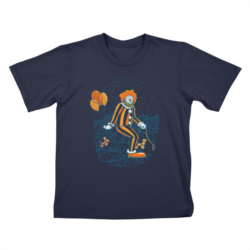 Clownfoot Kids T-Shirt by nickv47