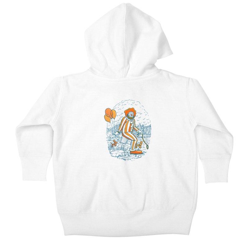 Clownfoot Kids Baby Zip-Up Hoody by nickv47
