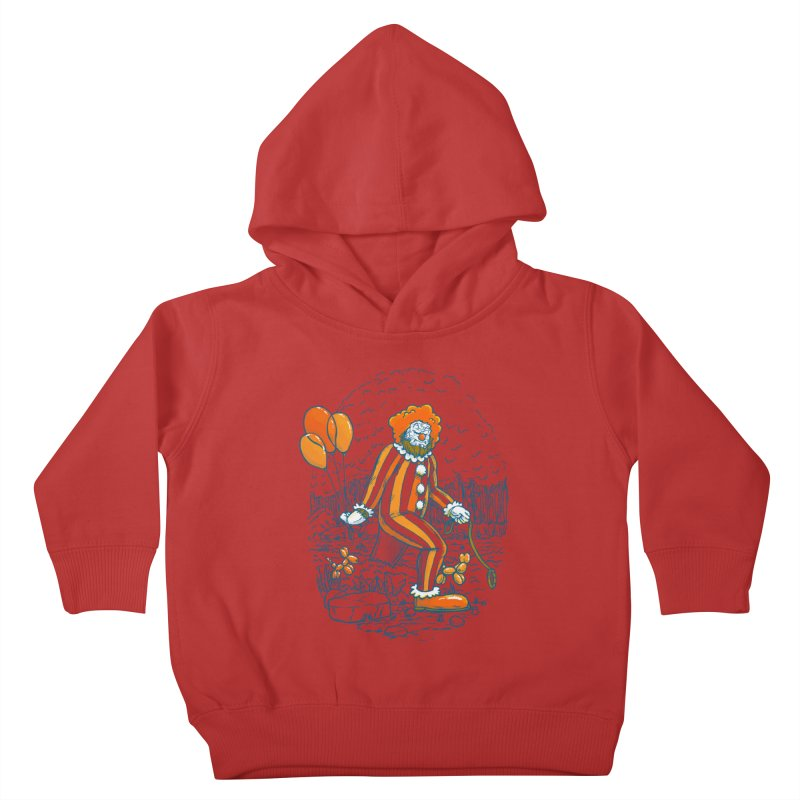 Clownfoot Kids Toddler Pullover Hoody by nickv47