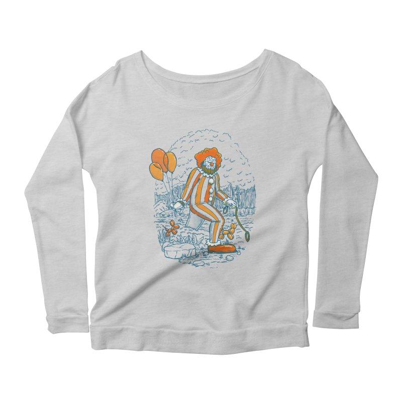 Clownfoot Women's Scoop Neck Longsleeve T-Shirt by nickv47