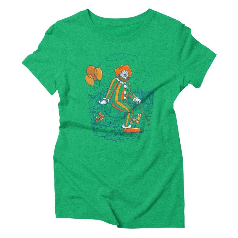 Clownfoot Women's Triblend T-Shirt by nickv47