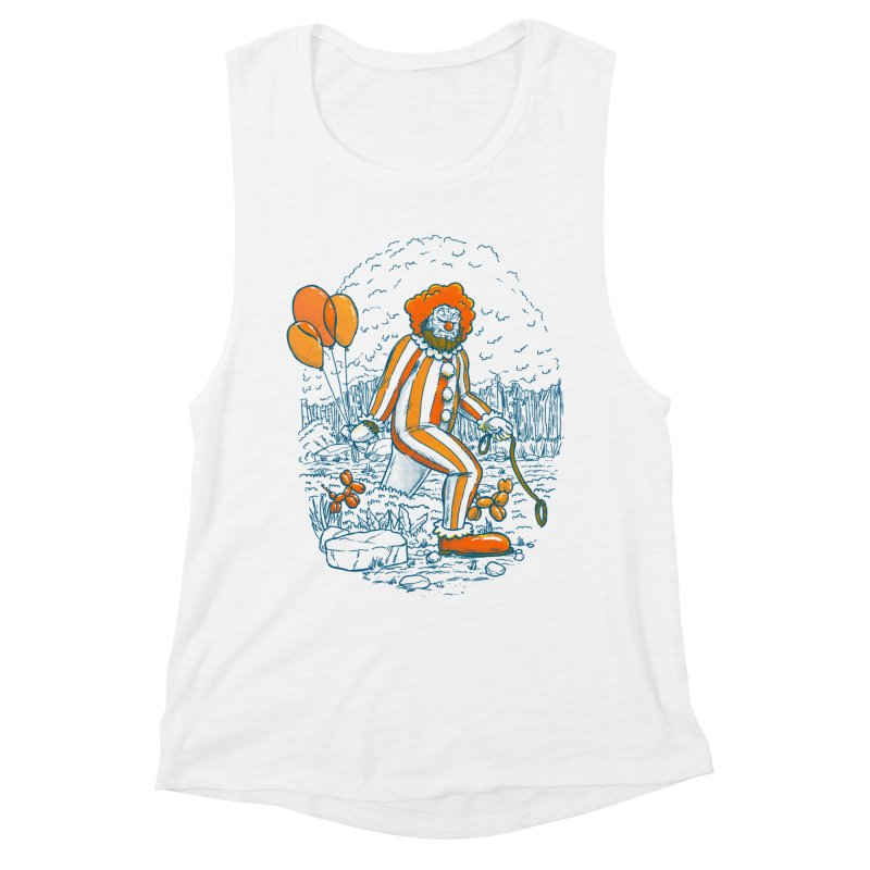 Clownfoot Women's Muscle Tank by nickv47