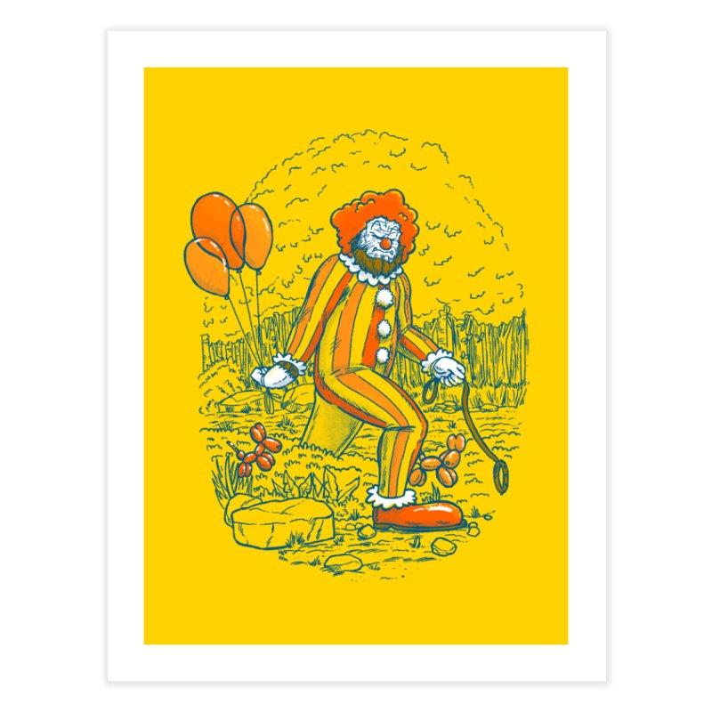 Clownfoot Home Fine Art Print by nickv47