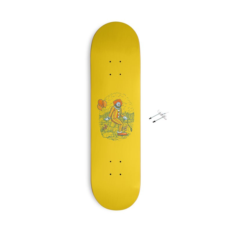 Clownfoot Accessories With Hanging Hardware Skateboard by nickv47