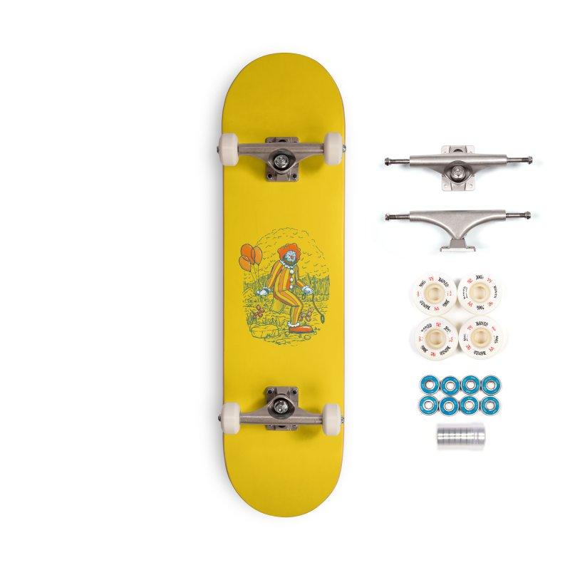 Clownfoot Accessories Complete - Premium Skateboard by nickv47