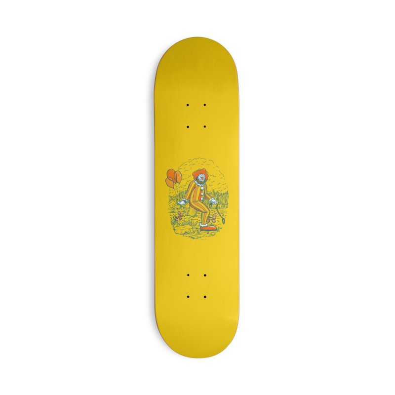 Clownfoot Accessories Skateboard by nickv47