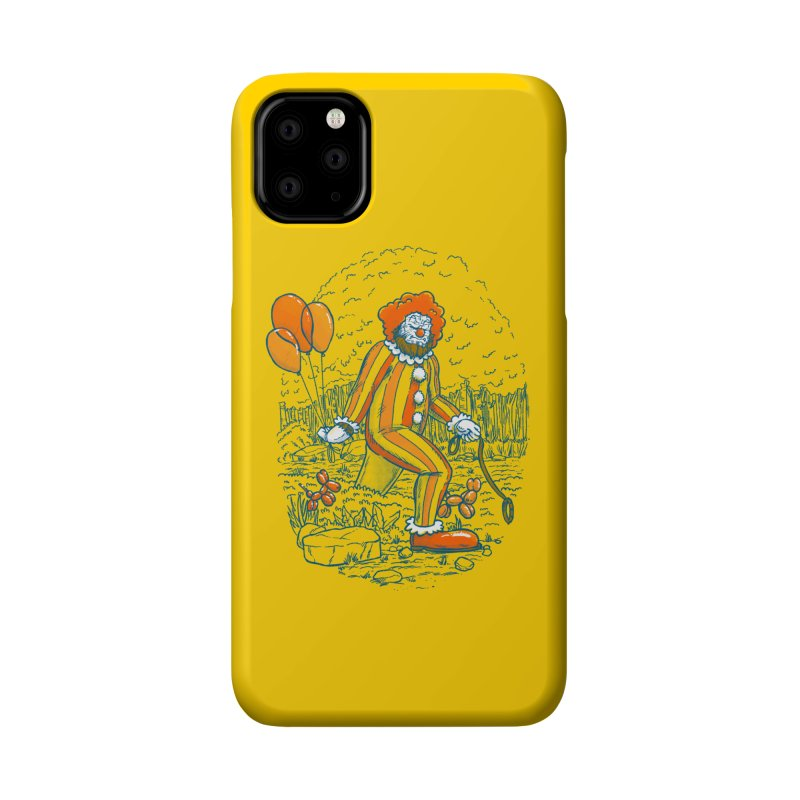 Clownfoot Accessories Phone Case by nickv47