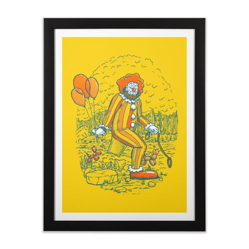 Clownfoot Home Framed Fine Art Print by nickv47