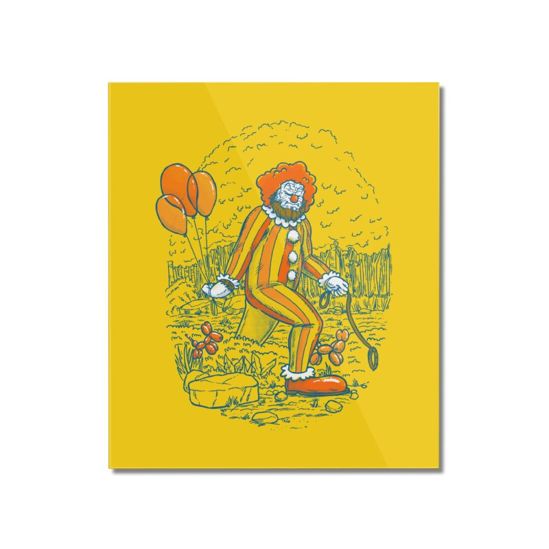 Clownfoot Home Mounted Acrylic Print by nickv47