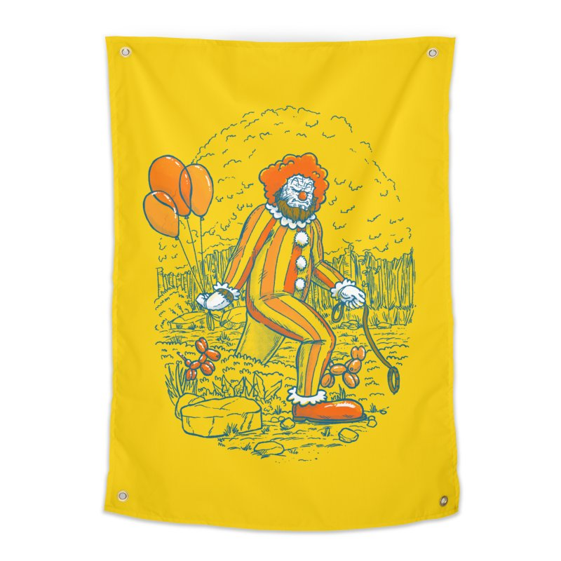 Clownfoot Home Tapestry by nickv47