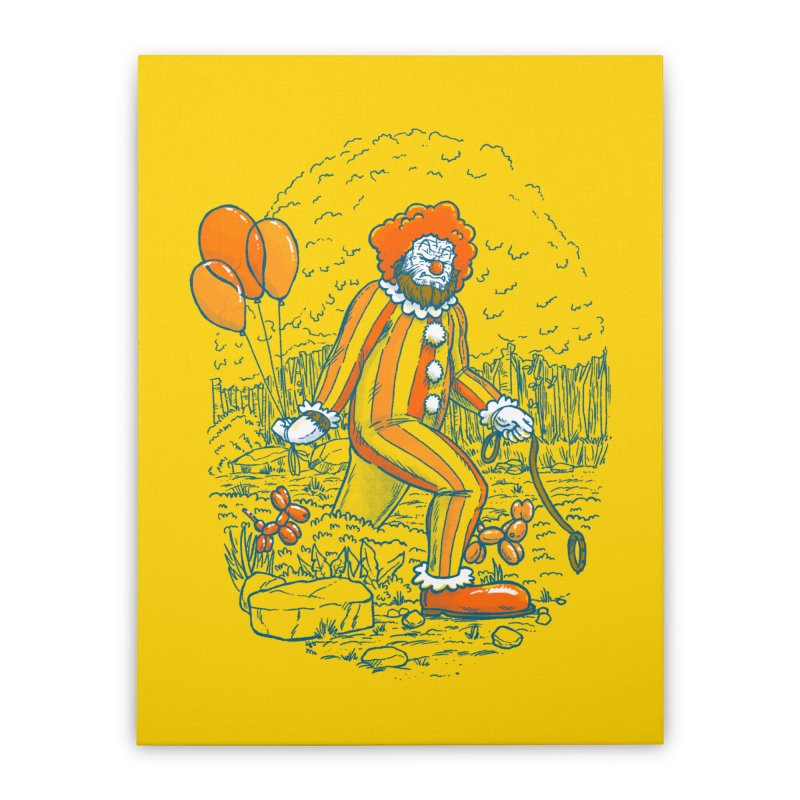 Clownfoot Home Stretched Canvas by nickv47