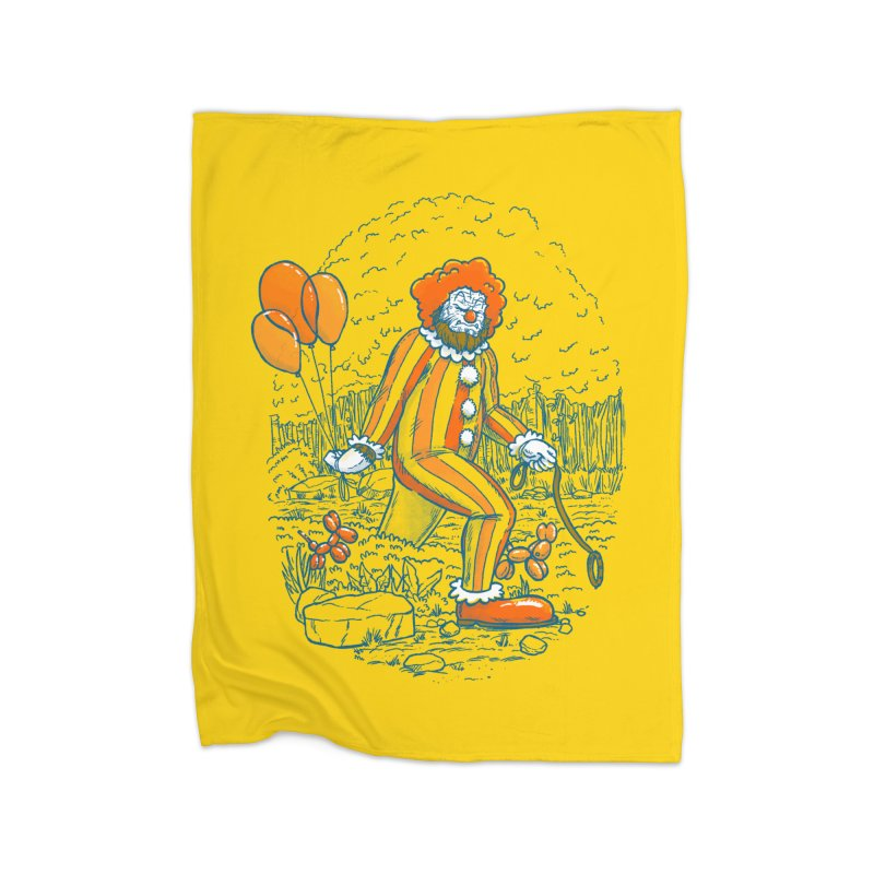 Clownfoot Home Fleece Blanket Blanket by nickv47