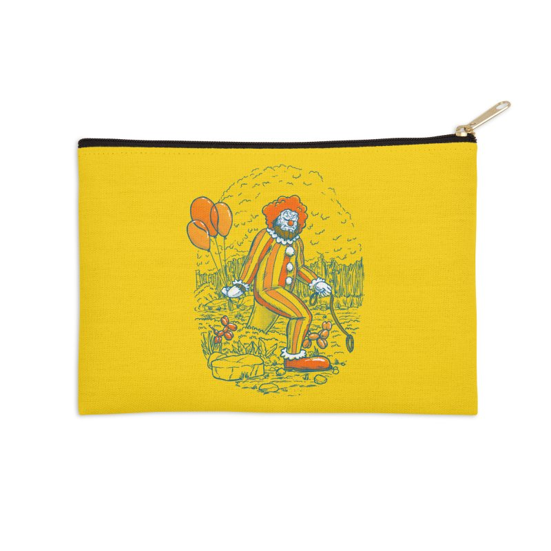 Clownfoot Accessories Zip Pouch by nickv47