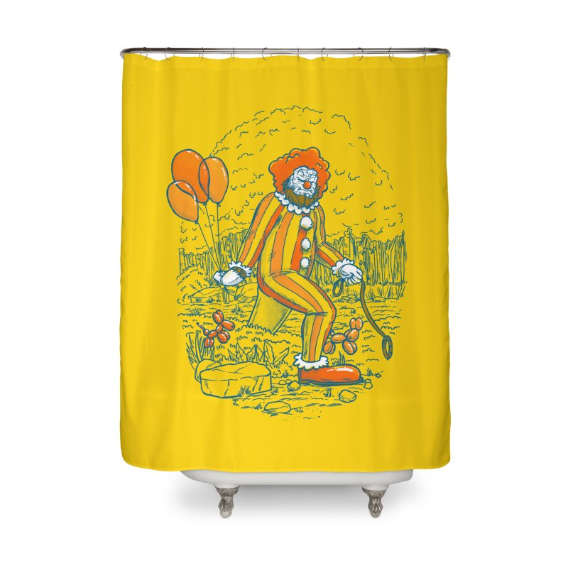 Clownfoot Home Shower Curtain by nickv47