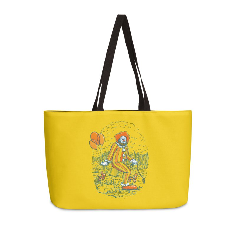 Clownfoot Accessories Weekender Bag Bag by nickv47