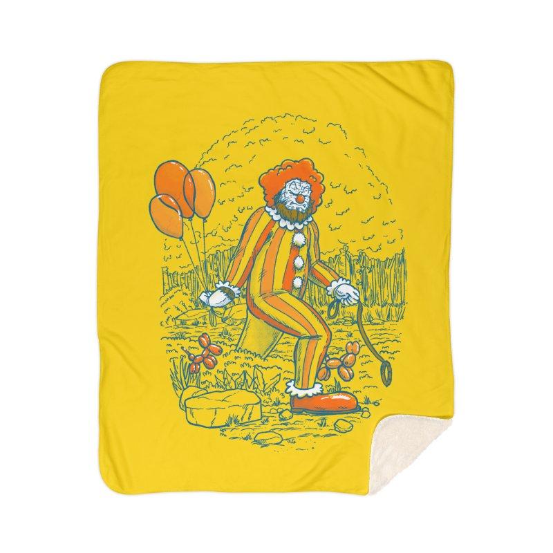 Clownfoot Home Sherpa Blanket Blanket by nickv47