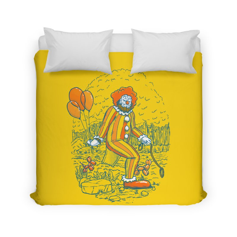 Clownfoot Home Duvet by nickv47
