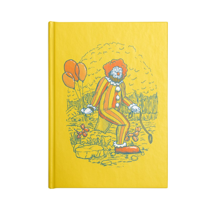 Clownfoot Accessories Blank Journal Notebook by nickv47