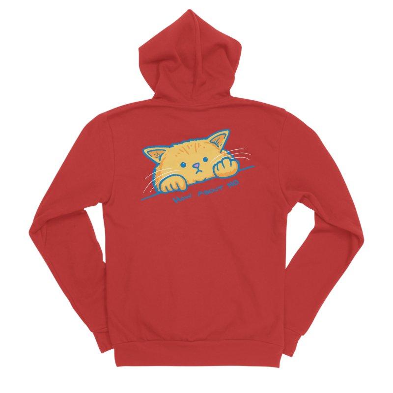 How About No Women's Sponge Fleece Zip-Up Hoody by nickv47