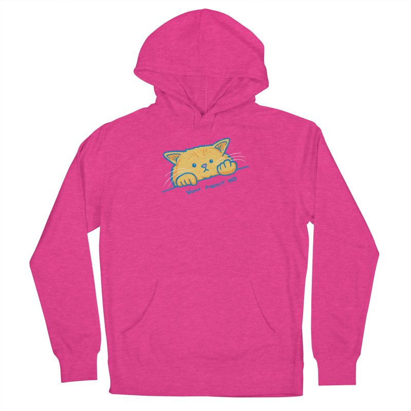 How About No Men's French Terry Pullover Hoody by nickv47