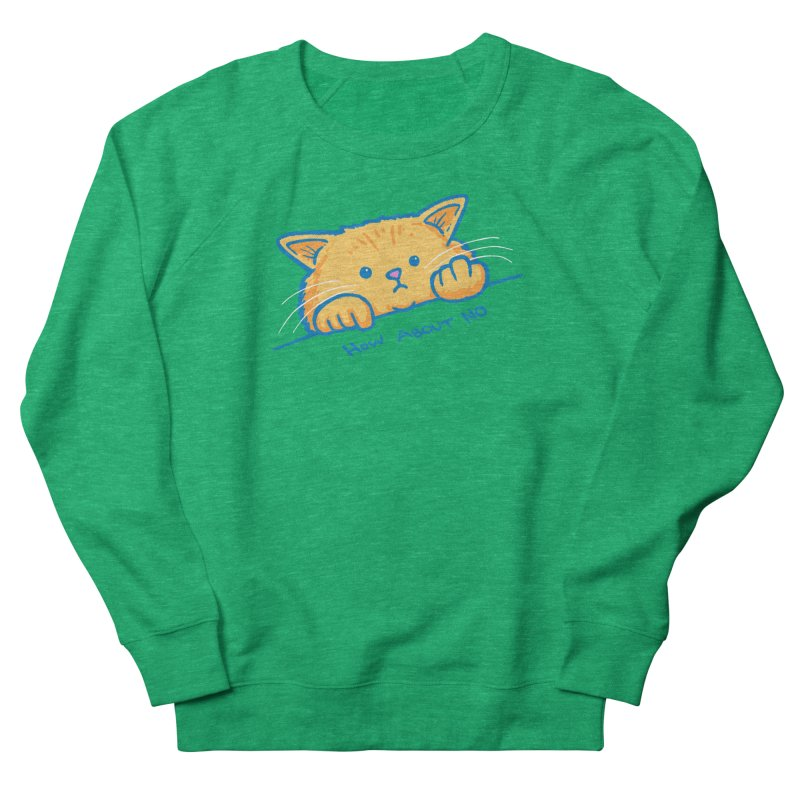 How About No Men's French Terry Sweatshirt by nickv47