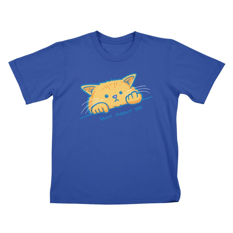 How About No Kids T-Shirt by nickv47