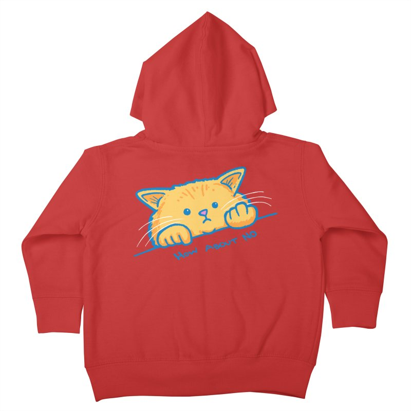 How About No Kids Toddler Zip-Up Hoody by nickv47