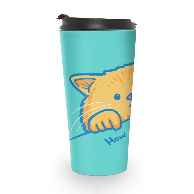 How About No Accessories Travel Mug by nickv47