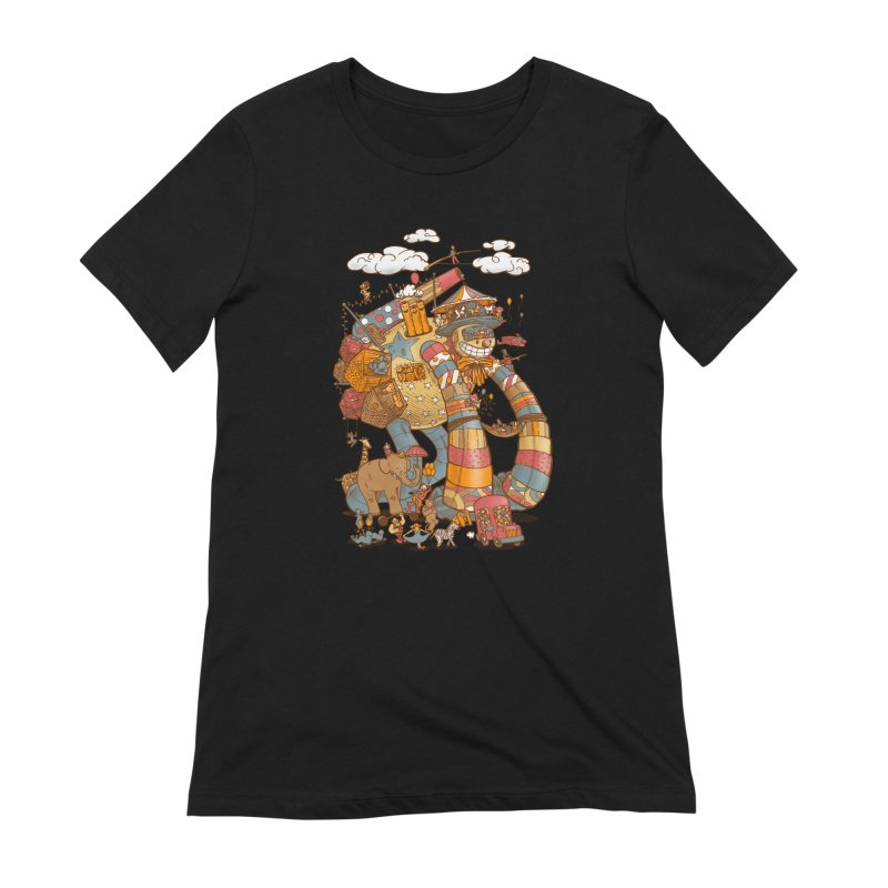 Circusbot Women's Extra Soft T-Shirt by nickv47