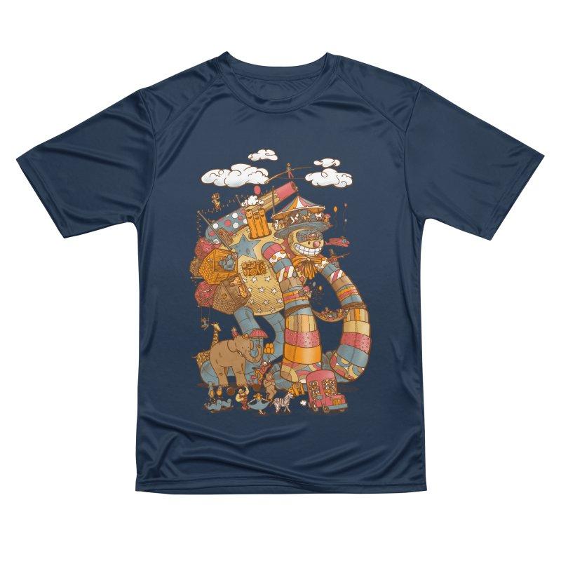 Circusbot Women's Performance Unisex T-Shirt by nickv47