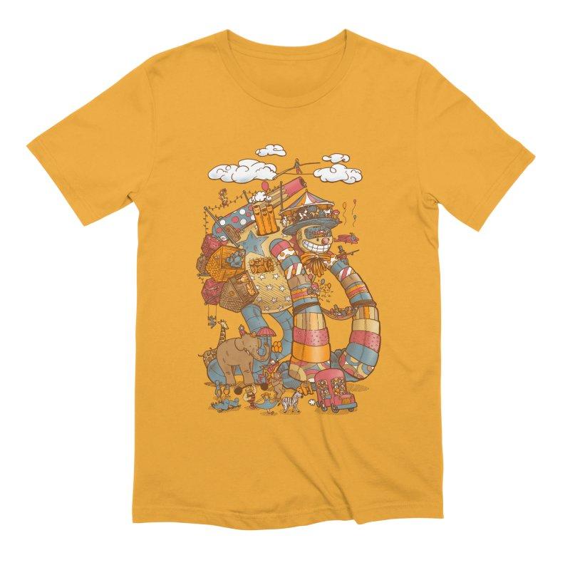 Circusbot Men's Extra Soft T-Shirt by nickv47