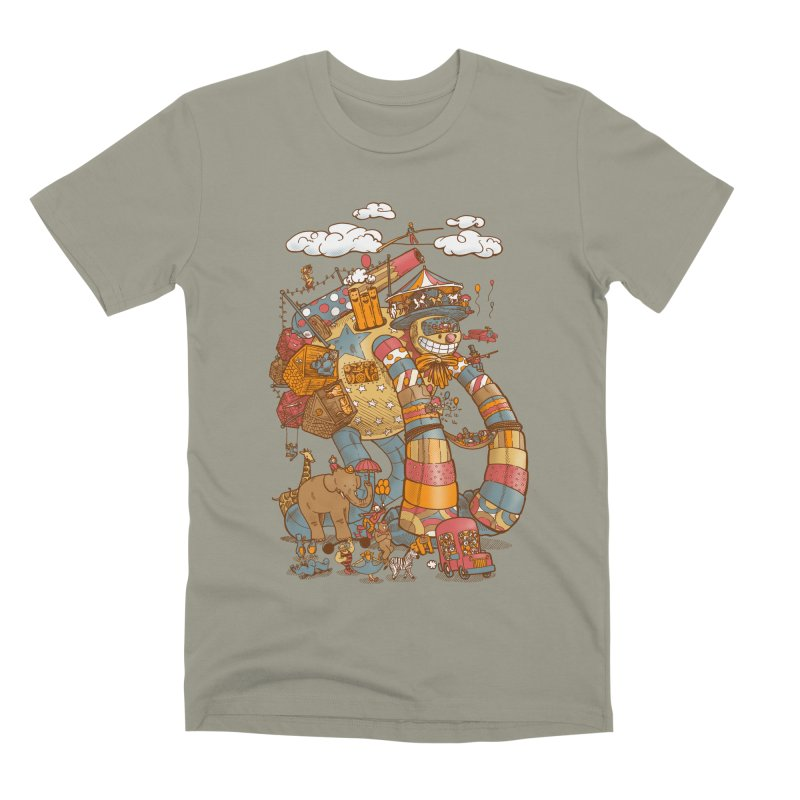 Circusbot Men's Premium T-Shirt by nickv47