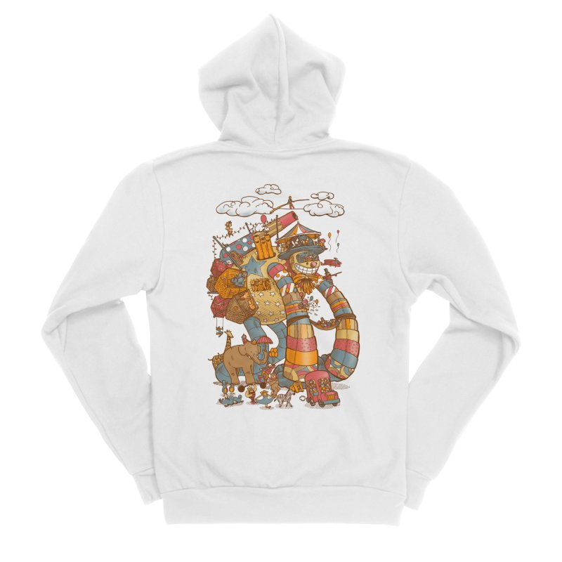 Circusbot Men's Sponge Fleece Zip-Up Hoody by nickv47