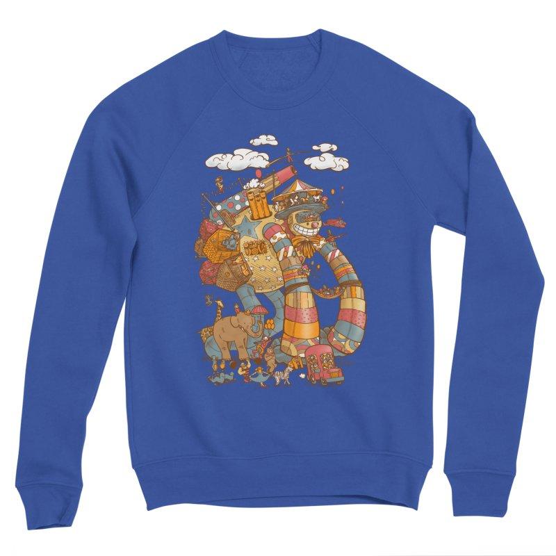 Circusbot Women's Sponge Fleece Sweatshirt by nickv47