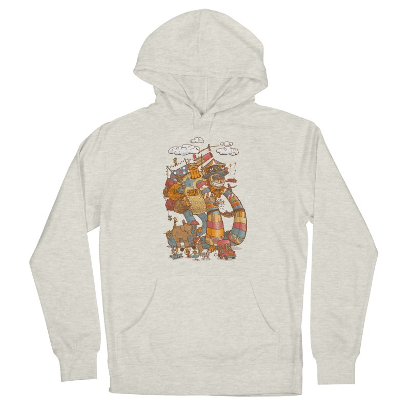 Circusbot Men's French Terry Pullover Hoody by nickv47