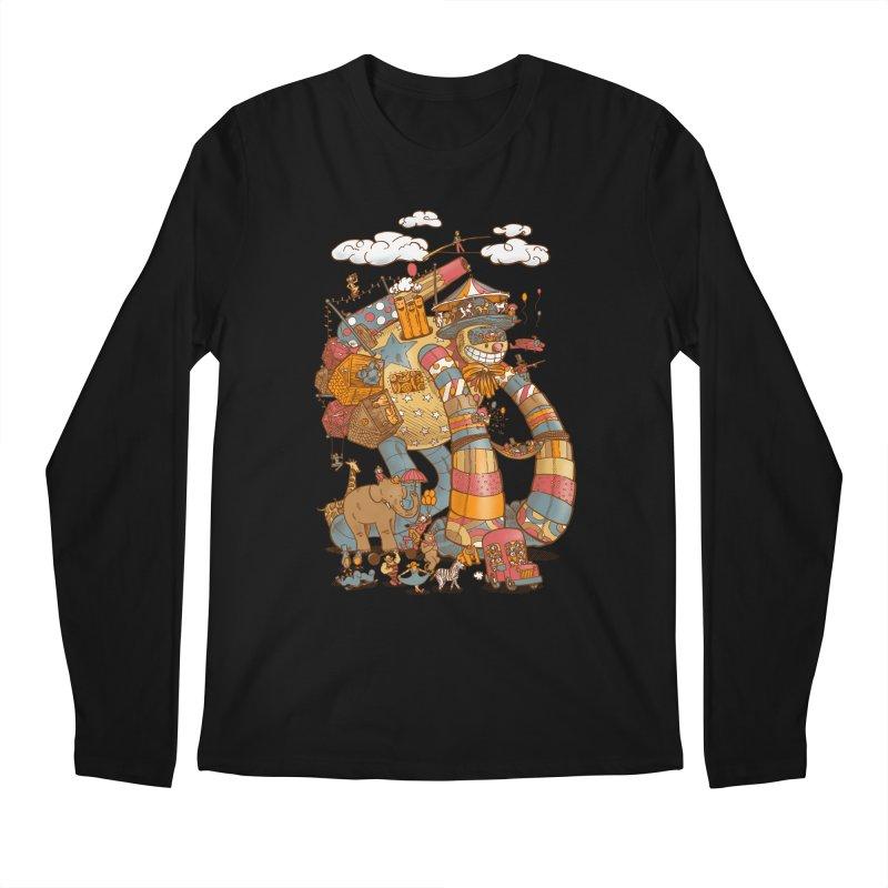Circusbot Men's Regular Longsleeve T-Shirt by nickv47