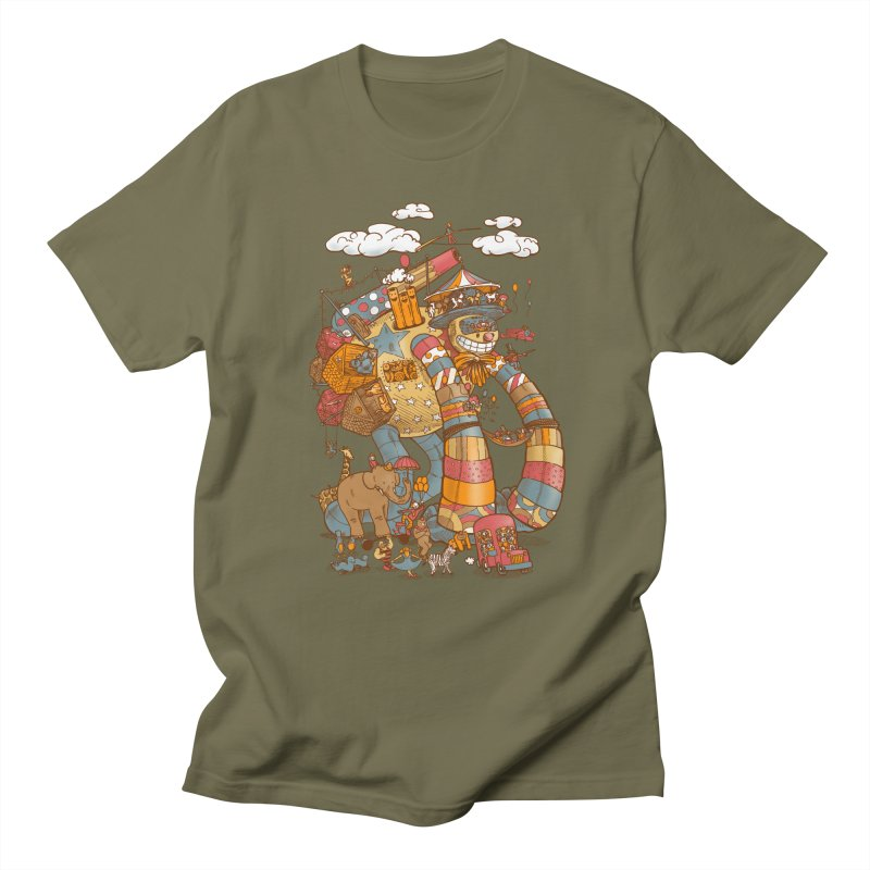 Circusbot Men's T-Shirt by nickv47