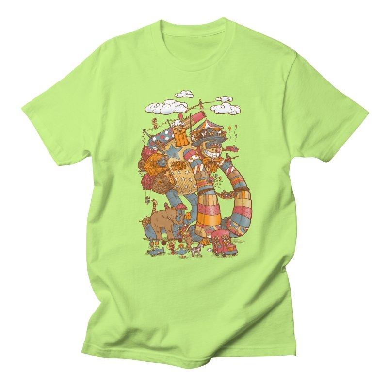 Circusbot Men's T-Shirt by nickv47