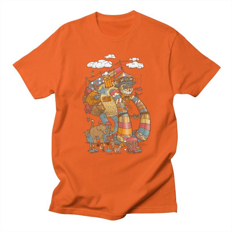 Circusbot Men's Regular T-Shirt by nickv47