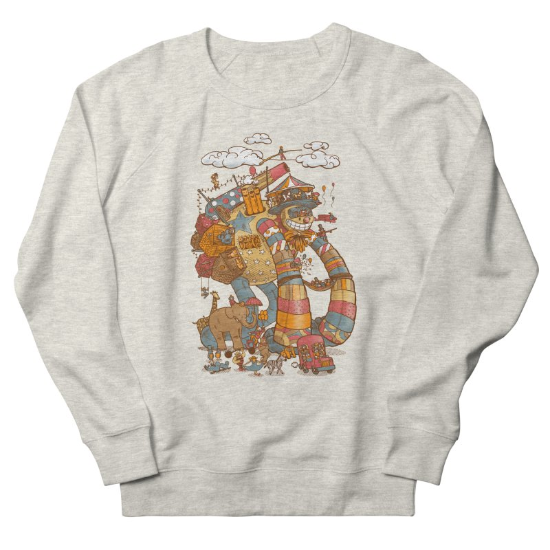 Circusbot Women's French Terry Sweatshirt by nickv47