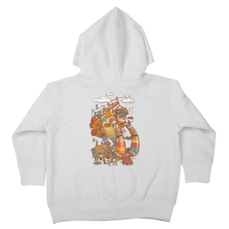 Circusbot Kids Toddler Zip-Up Hoody by nickv47