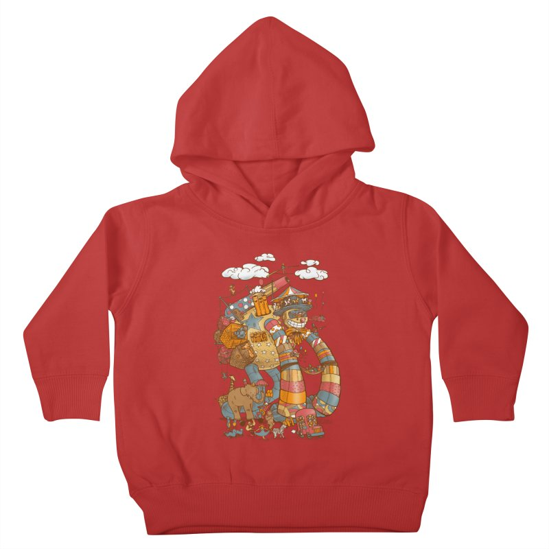 Circusbot Kids Toddler Pullover Hoody by nickv47